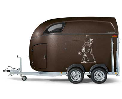 Master series maple lane equestrian trailers bckmann horse big master sciox Image collections