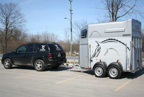 Image Result For Honda Ridgeline Towing Horse Trailer